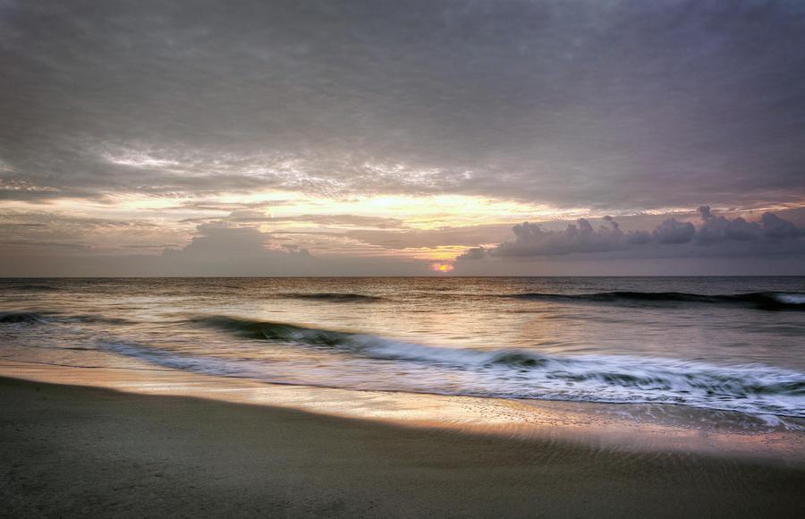 Carolina Beach Morning Photograph by Greg Mimbs