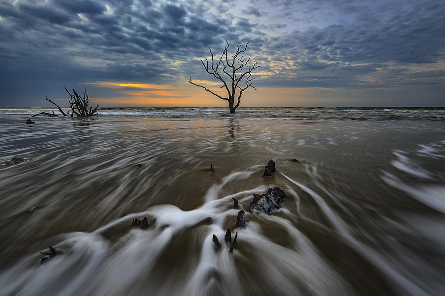 Sunrise Photograph - Carolina Lowcountry by Rick Berk