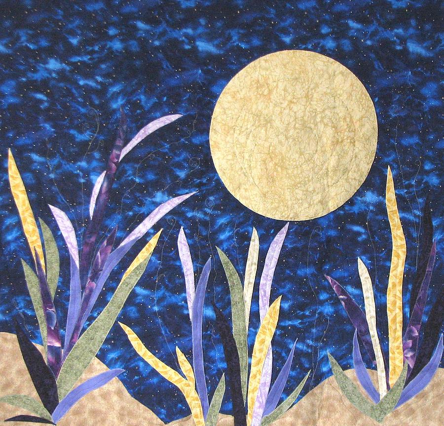 Carolina Moon Tapestry - Textile by Maureen Wartski