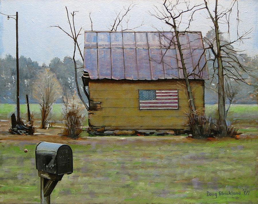 Antique Painting - Carolina Patriot by Doug Strickland