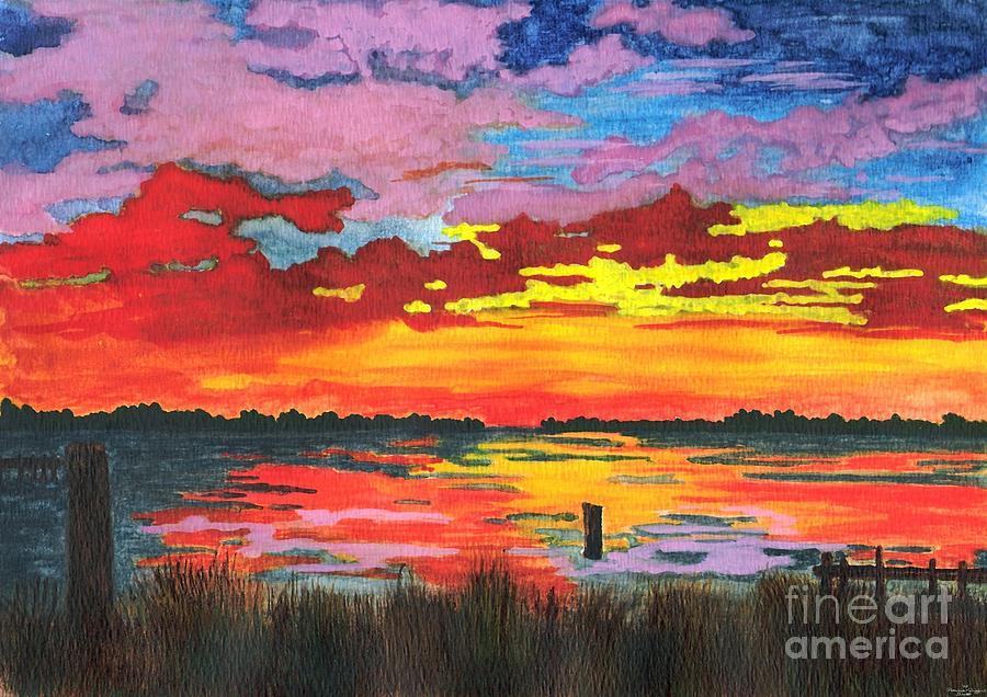 Carolina Sunset by Patricia Griffin Brett