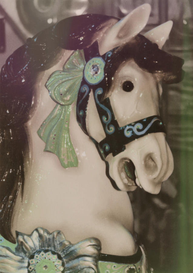 Horse Photograph - Carousel Horse by JAMART Photography