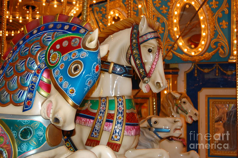 Carousel Horses Photograph By Patty Vicknair
