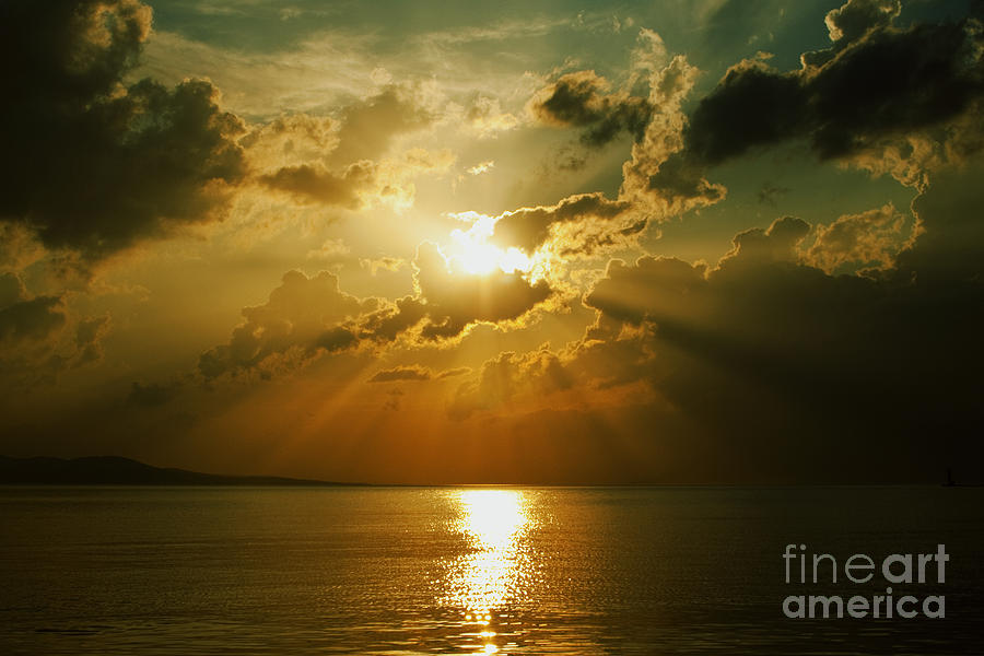 Sunset Photograph - Carpe Diem by Andrew Paranavitana