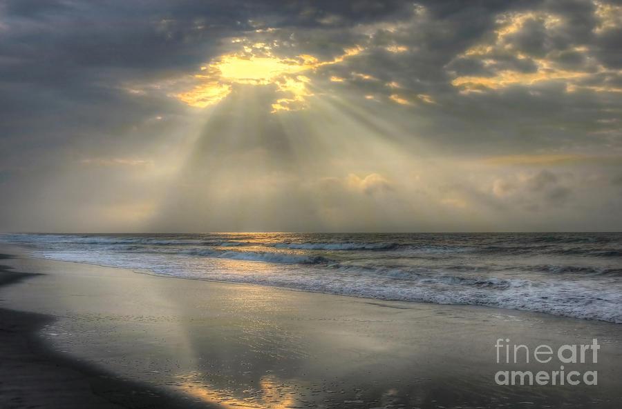 Sunrise Photograph - Carpe Diem by Jeff Breiman