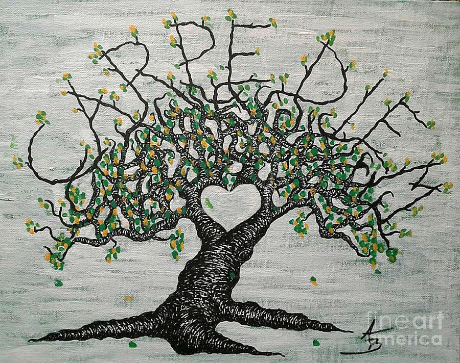 Carpe Diem Love Tree by Aaron Bombalicki