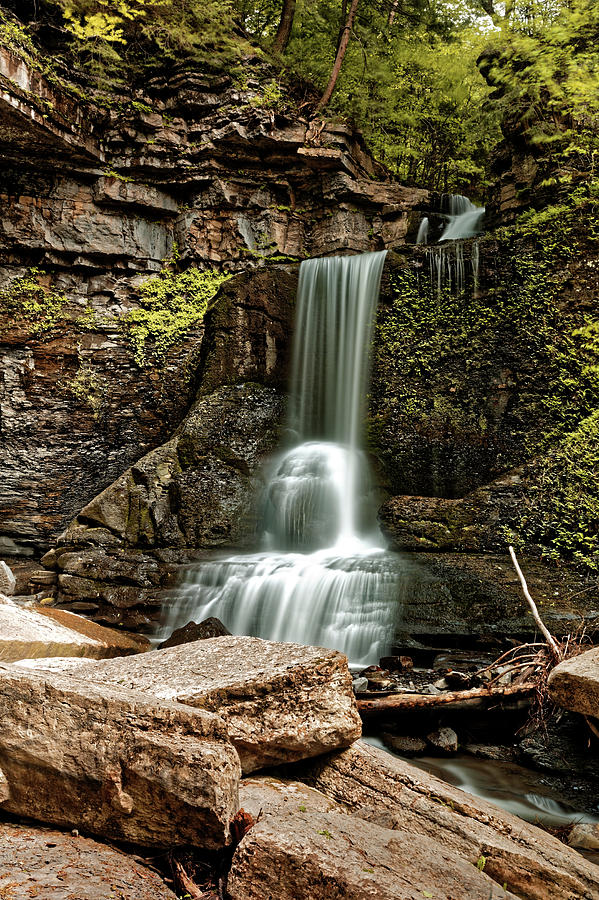Carpenter Falls Photograph - Carpenter Falls by Doolittle Photography and Art