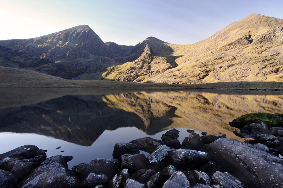 Carrauntoohil Photograph - Carrauntoohill Irelands Tallest Mountain by Pierre Leclerc Photography