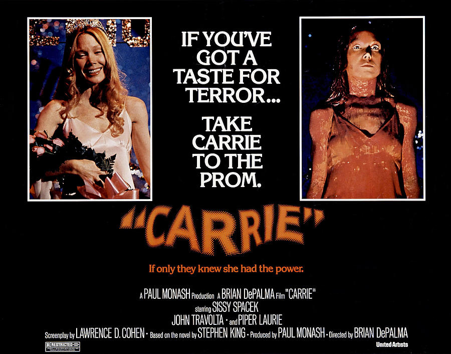 1970s Poster Art Photograph - Carrie, Sissy Spacek, 1976 by Everett
