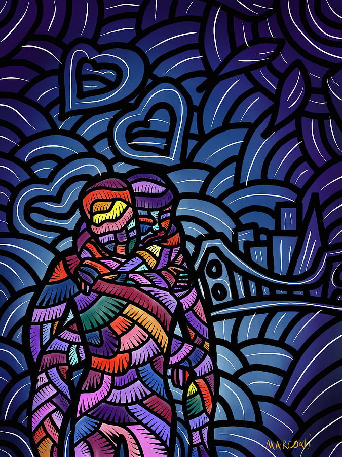 Love Digital Art - Carry You Home by Marconi Calindas