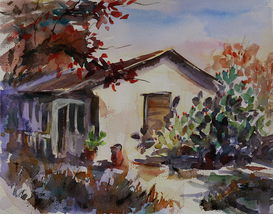 Carson House California Landscape 6 by Xueling Zou