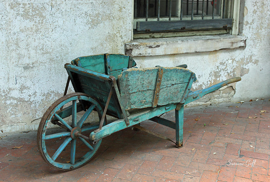 Cart Photograph - Cart For Sale by Suzanne Gaff