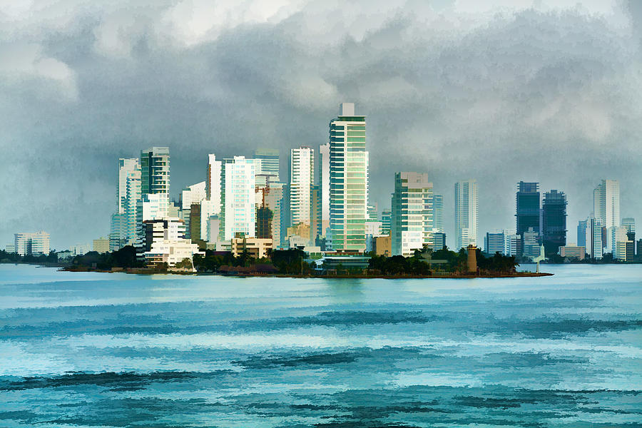 Cartagena By Sea Photograph