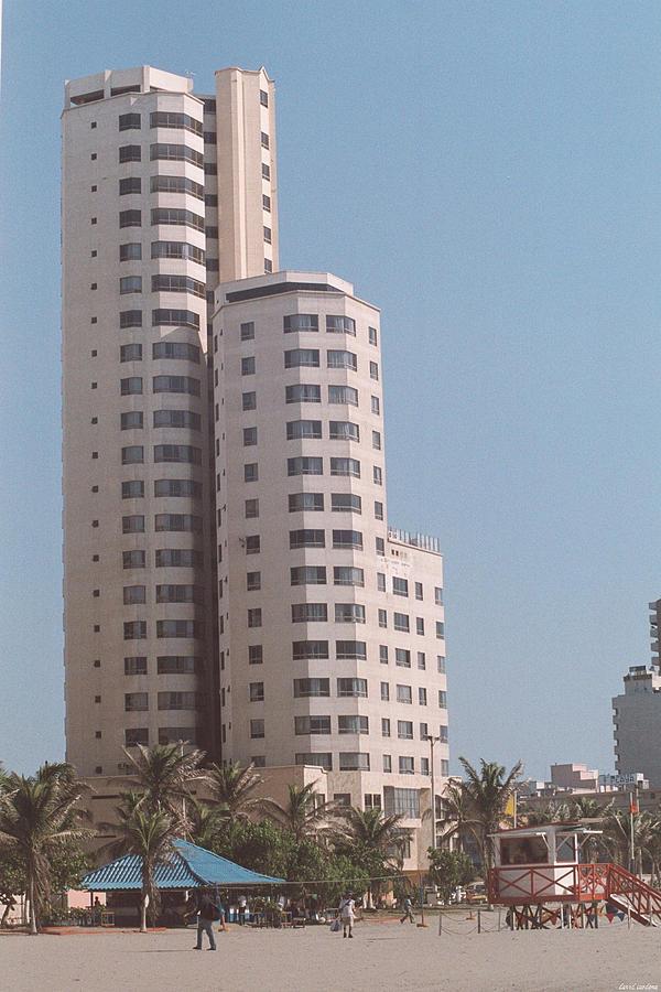 Girl Photograph - Cartagena Towers by David Cardona