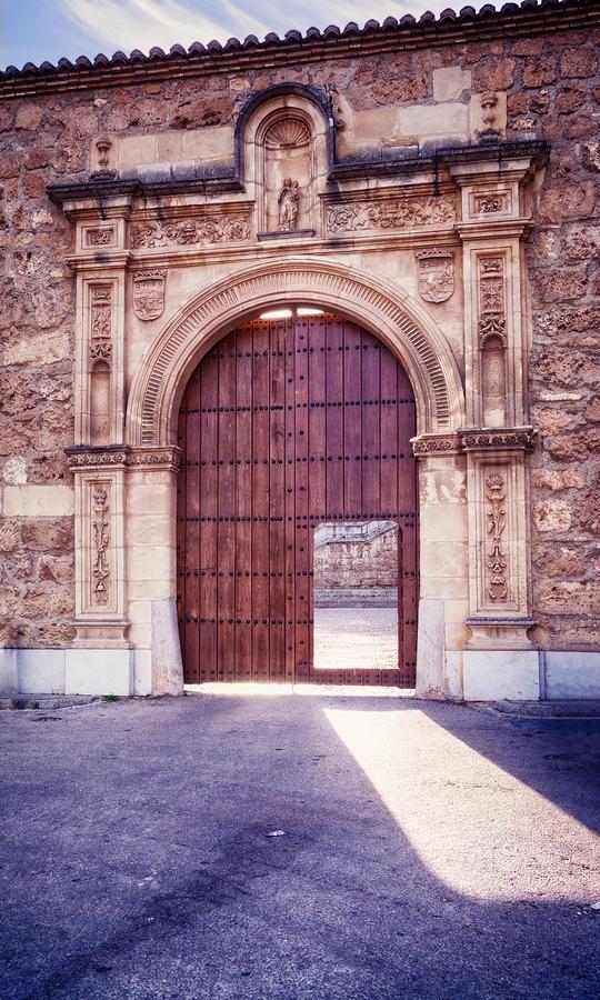 Joan Carroll Photograph - Carthusian Monastery Granada by Joan Carroll