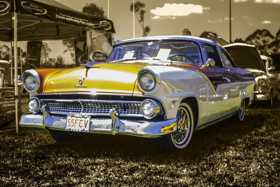 Cartoon Car Photograph by Michael  Podesta