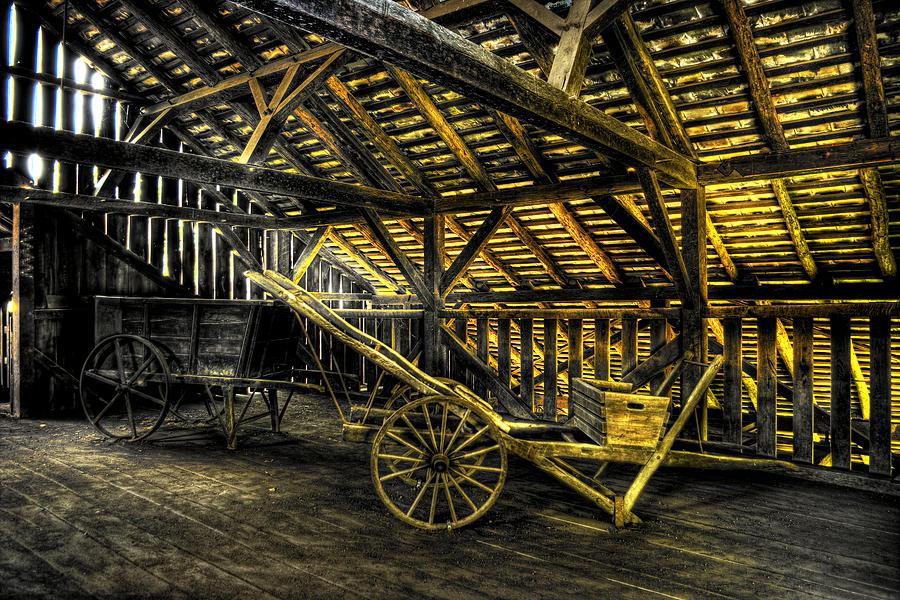 Farm Photograph - Carts Before The Horse by Scott Wyatt
