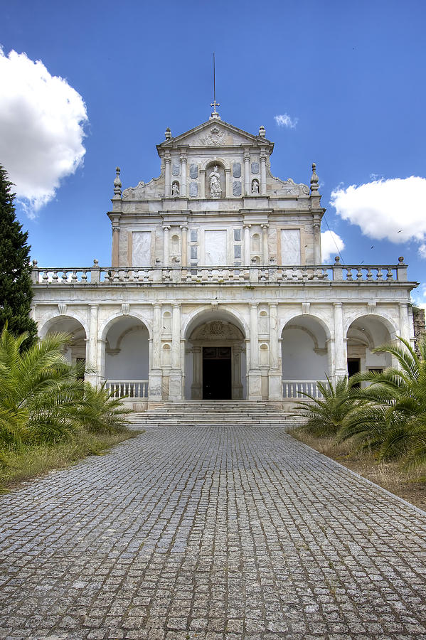 Cartuxa Convent Photograph by Andre Goncalves