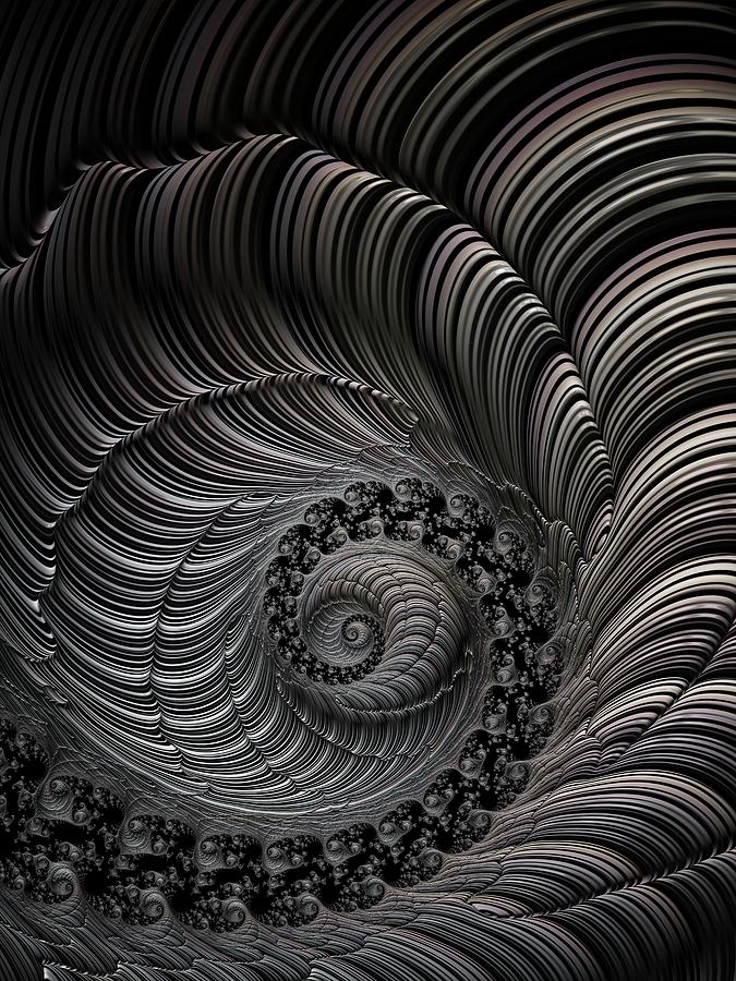 Carved Spiral by Amanda Moore