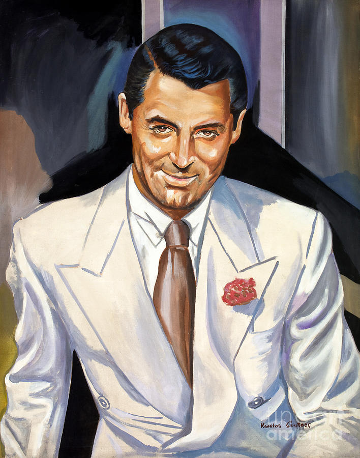 Cary Grant by Star Portraits Art