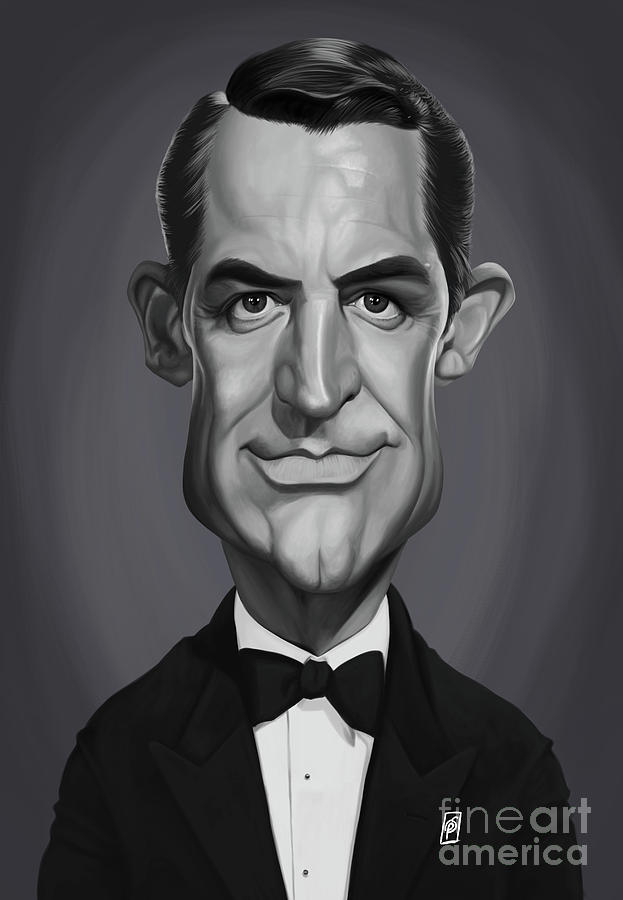Celebrity Sunday - Cary Grant by Rob Snow