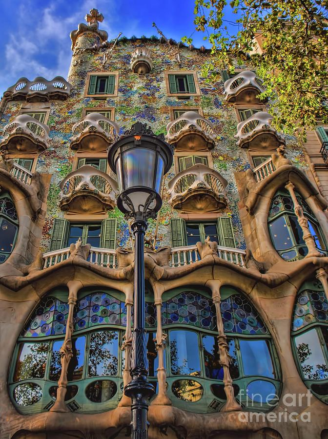 Gaudi Photograph - Casa Batllo Gaudi by Henry Kowalski