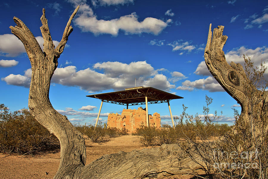 Casa Grande Ruins National Monument by Sam Antonio Photography