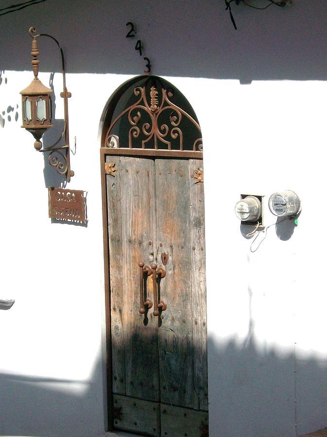 Door Photograph - Casa by James Johnstone