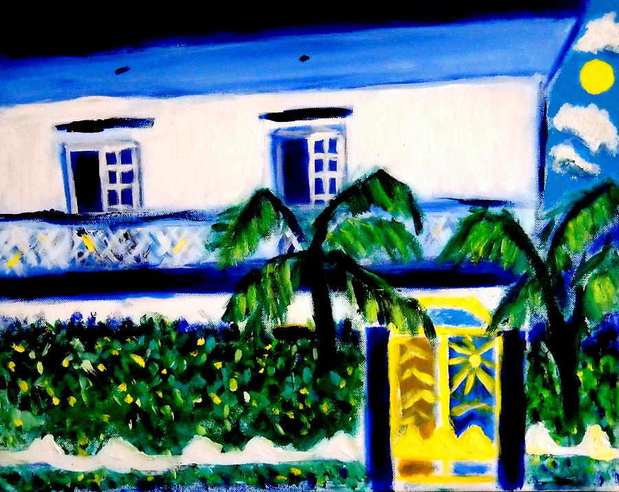 Casa Laguna Painting by Ted Hebbler