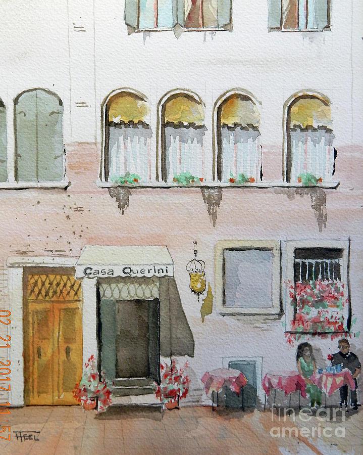 Casa Querini - Venice by Harold Teel