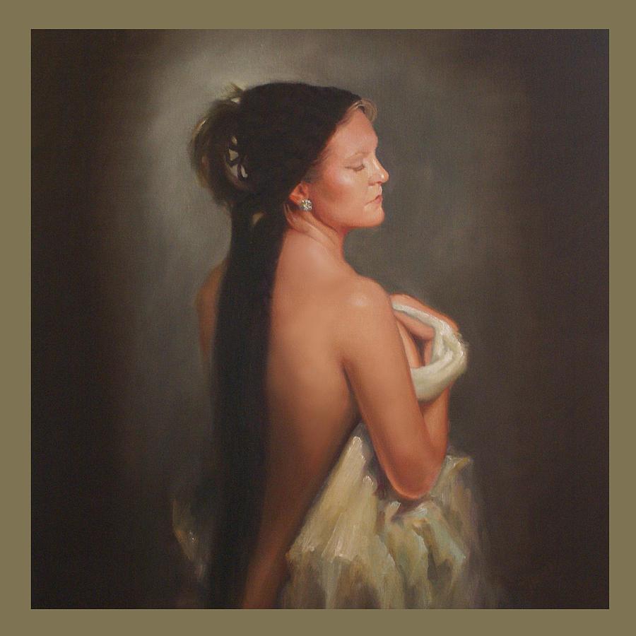Portrait Painting - Casandra by Patti Trostle