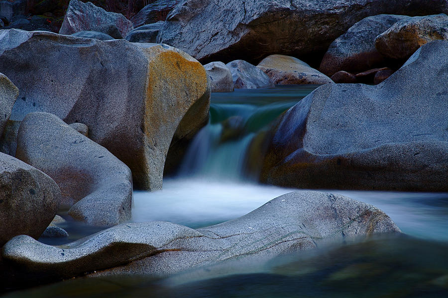 Yuba River Photograph - Cascade by John Daly
