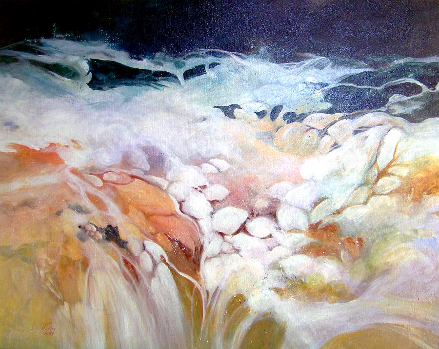 Cascade Painting by Lois Mountz