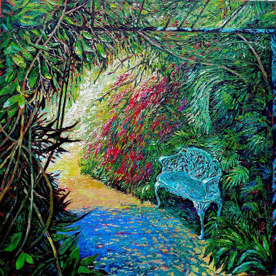 Cascade of Flowers by Linda J Bean
