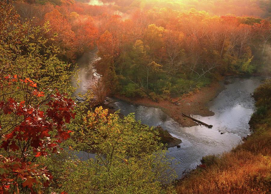 Cascade Valley Sunrise Photograph by Rob Blair