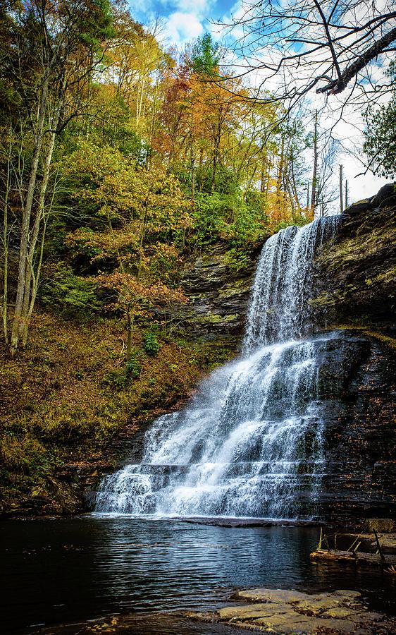 Cascades Lower Falls by Joe Shrader