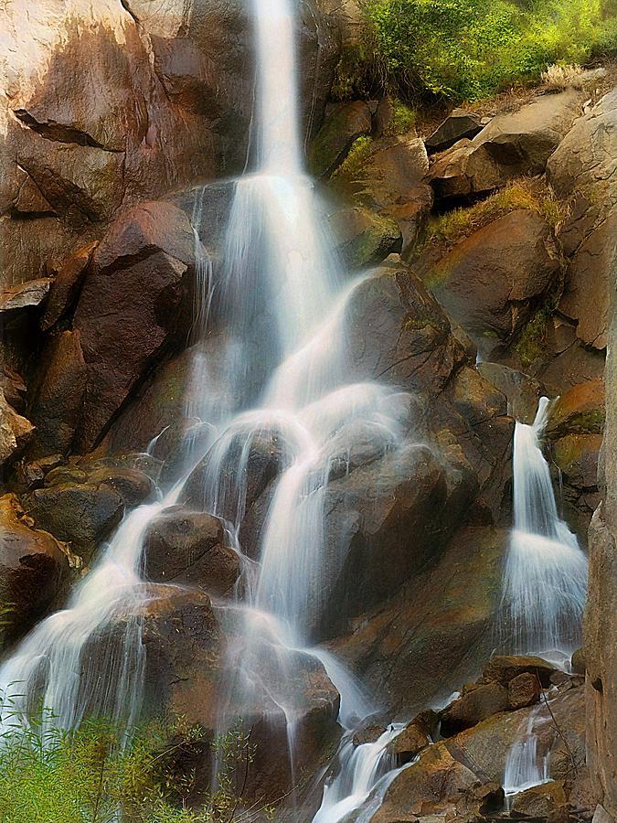Yosemite Photograph - Cascading Falls by Scott Fracasso