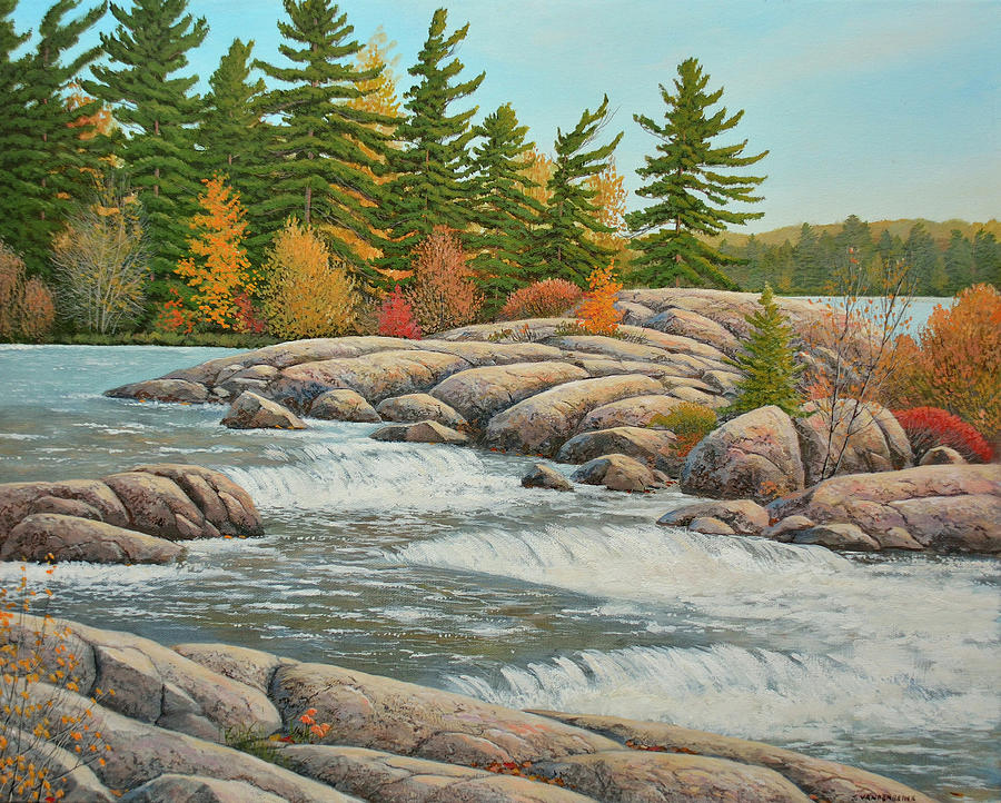 Cascading Flow by Jake Vandenbrink