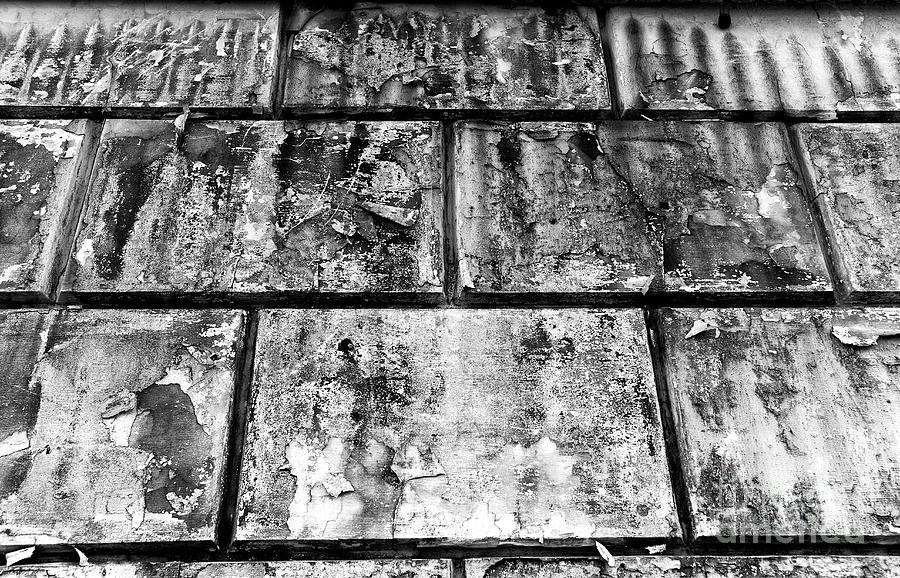 Old Tiles Photograph - Casco Viejo Tiles Mono by John Rizzuto