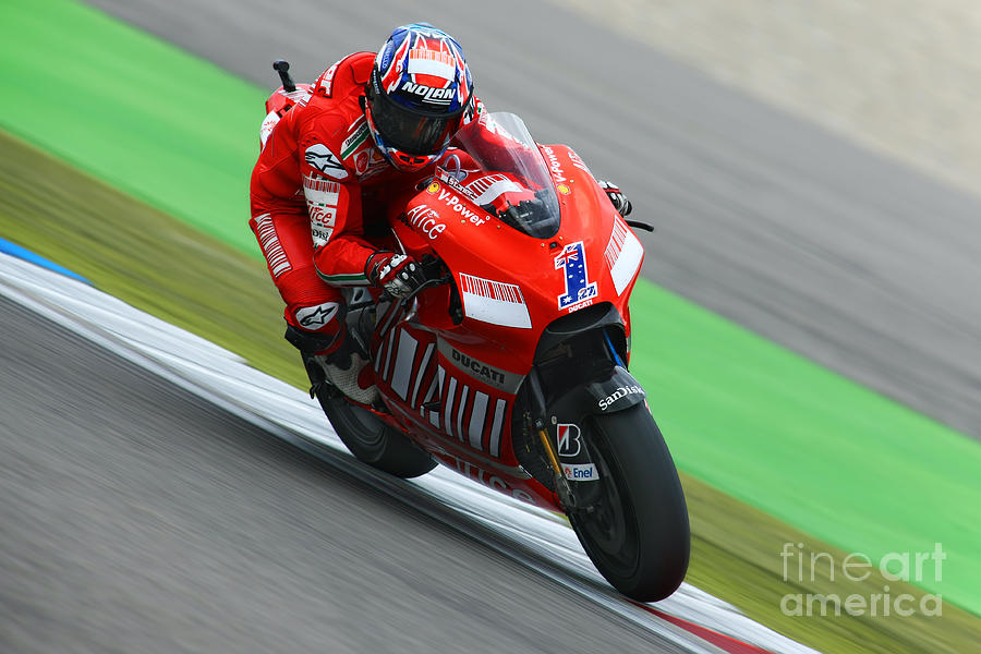 Netherlands Photograph - Casey Stoner by Henk Meijer Photography