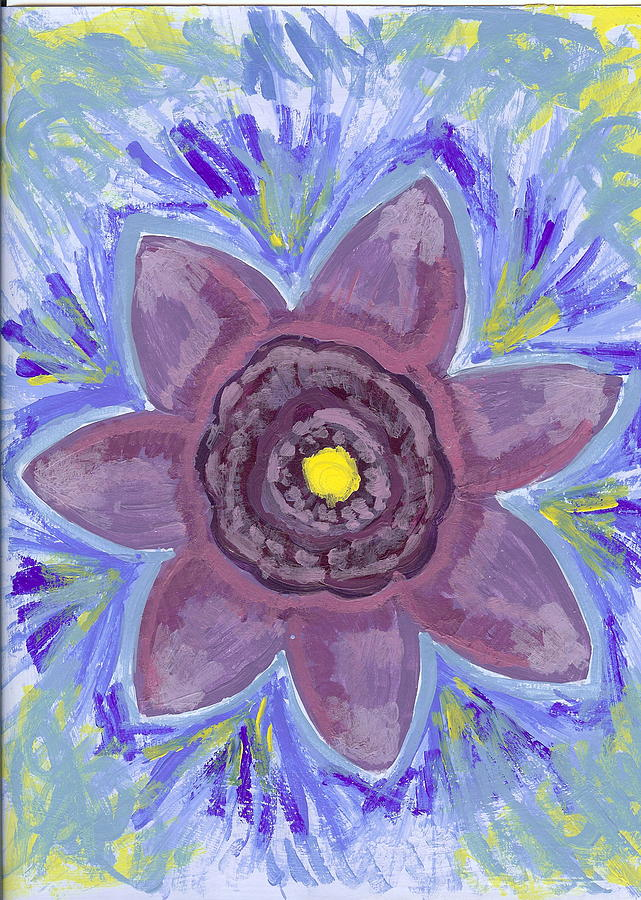 Flower Painting - Cashmere by Laura Lillo