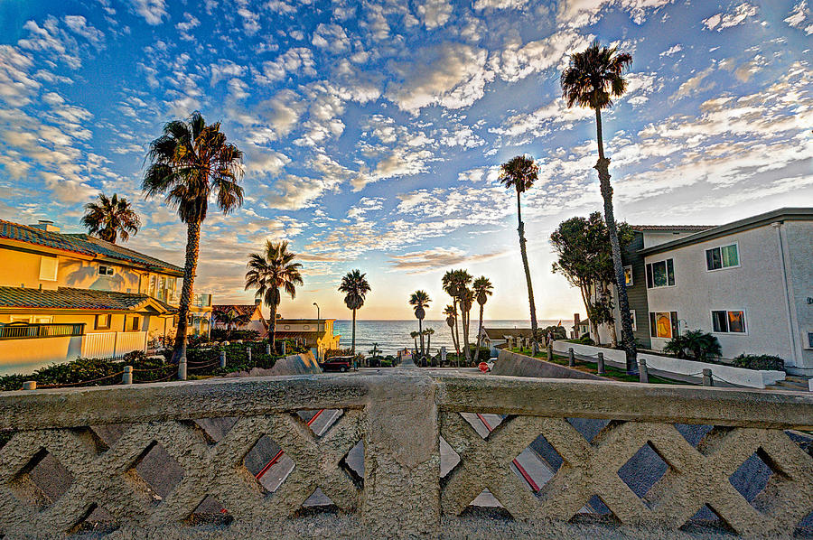 Oceanside Photograph - Cassidy Street Bridge by Ann Patterson