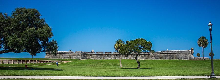 Castillo De San Marcos Photograph