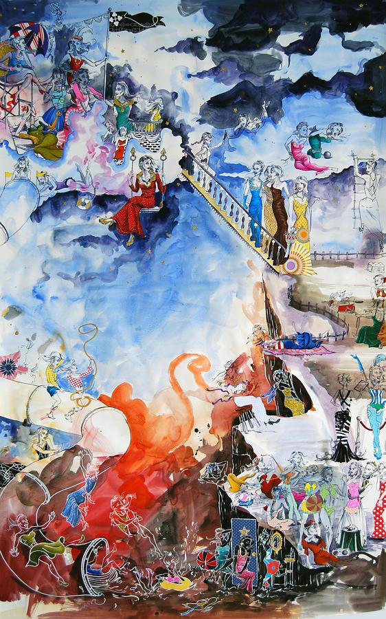 Whimsical Painting - Casting Call by Jaime Lynn Henderson