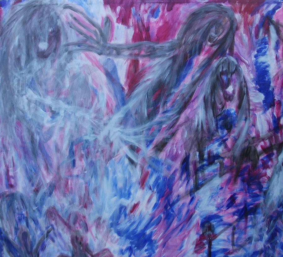 Vampire Painting - Casting Spells by Randall Ciotti