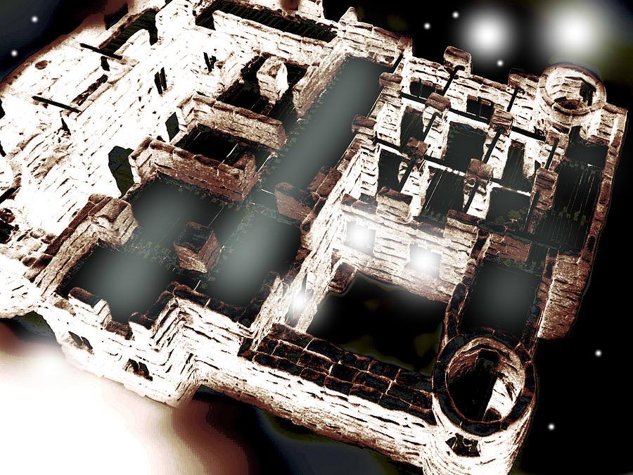 Castle 12 Digital Art by Oleg Trifonov