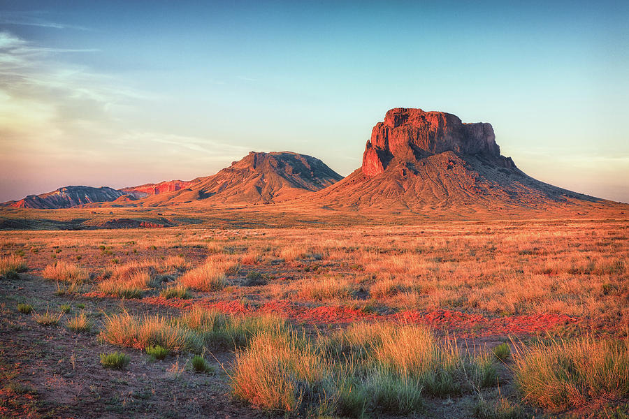 Adventure Photograph - Castle Butte by David Cote