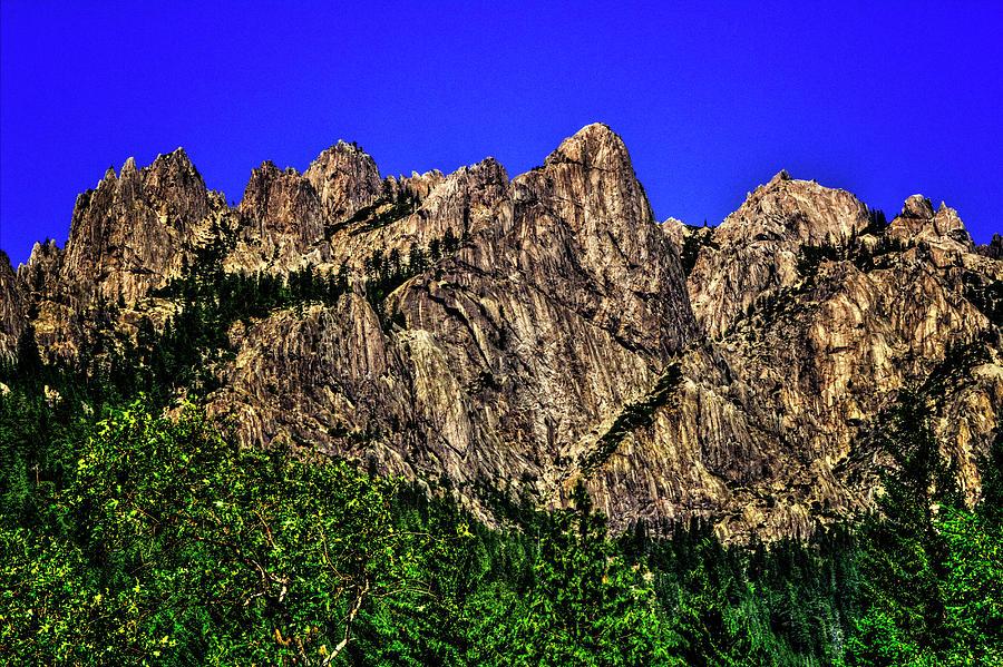 Castle Crags State Park Photograph