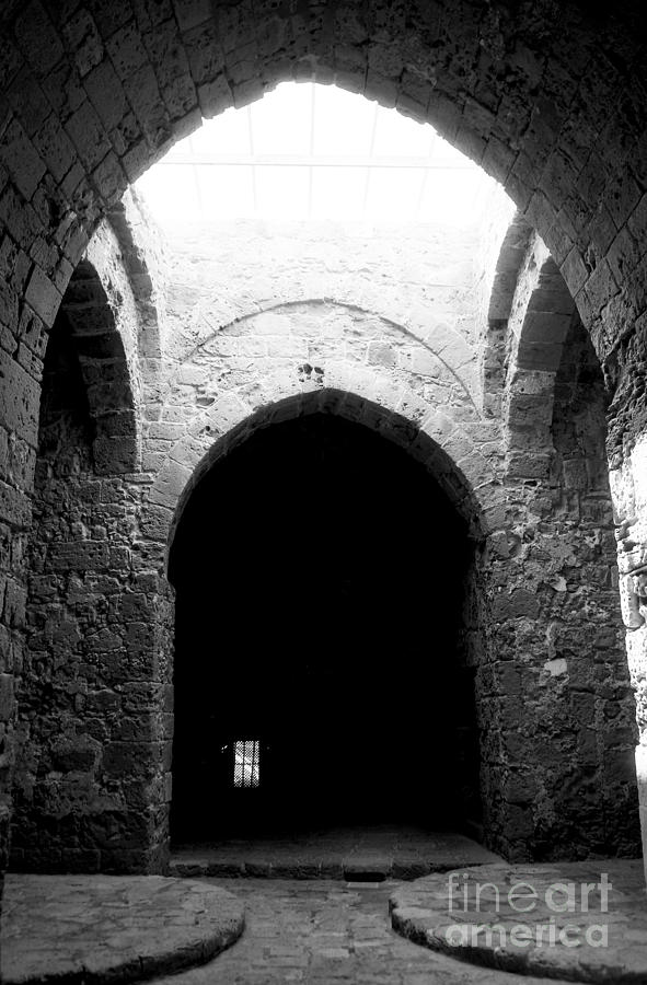 Castle Photograph - Castle Dungeon by John Rizzuto