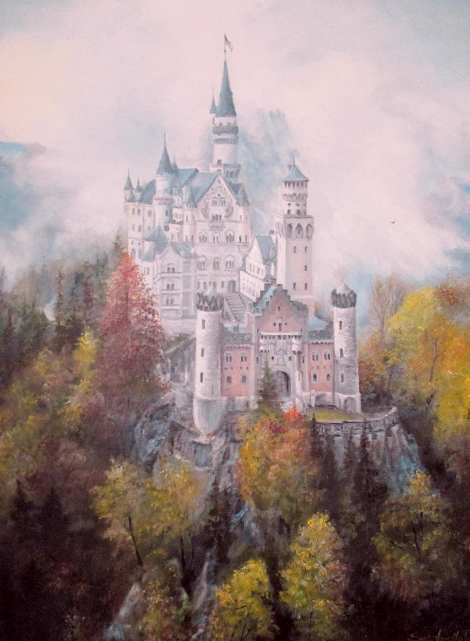 Castle in the Clouds by Sorin Apostolescu